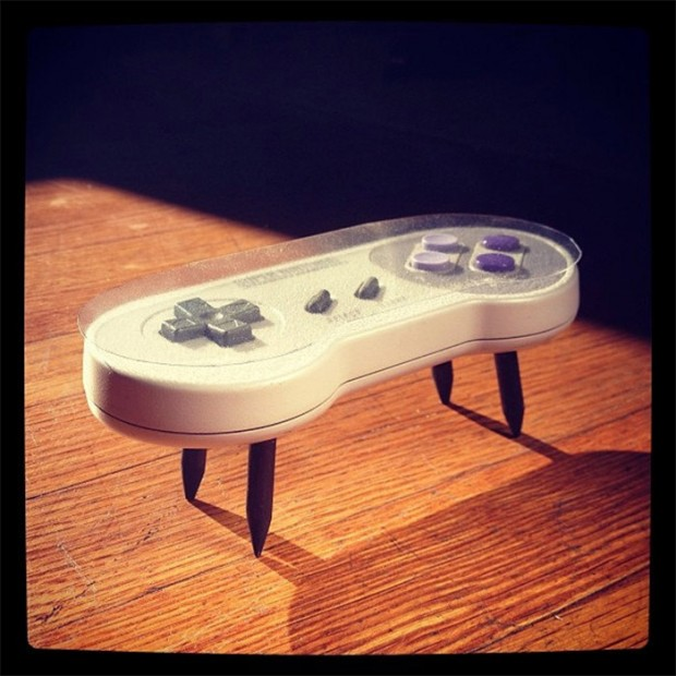 Beautiful Controller Coffee Table Part - 8: Snes_coffee_table Zoom In. This Super Nintendo Controller Table Was ...