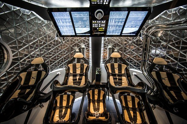 spacex dragon v2 reusable spacecraft 2 620x413