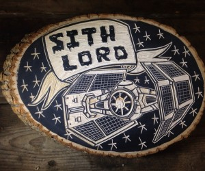 Zac Benedict's Star Wars Woodcuts Are out of This World