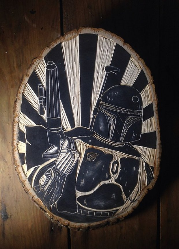 star wars woodcuts1