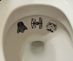 Star Wars Toilet Decals: Stay on Target!