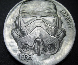 Stormtrooper Hobo Nickel: In Sith We Trust