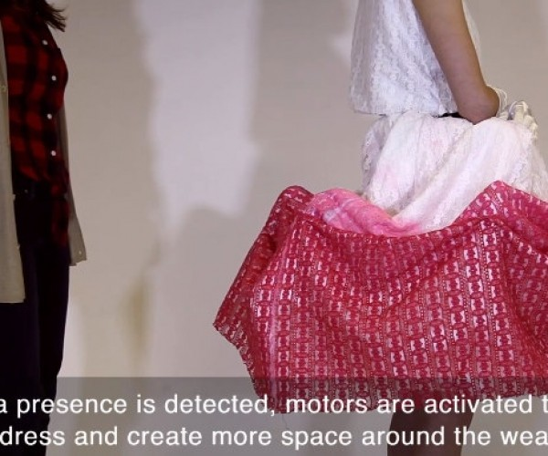The Urban Armor Dress Protects Your Personal Space