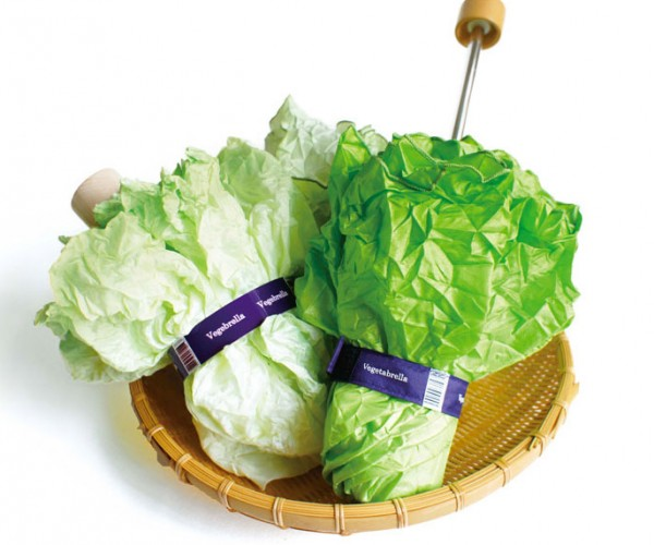 This Umbrella Looks Like Lettuce: Romaine Dry