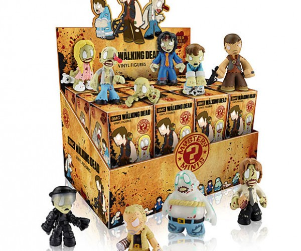 The Walking Dead Blind Box Mini Figures are a Mystery
