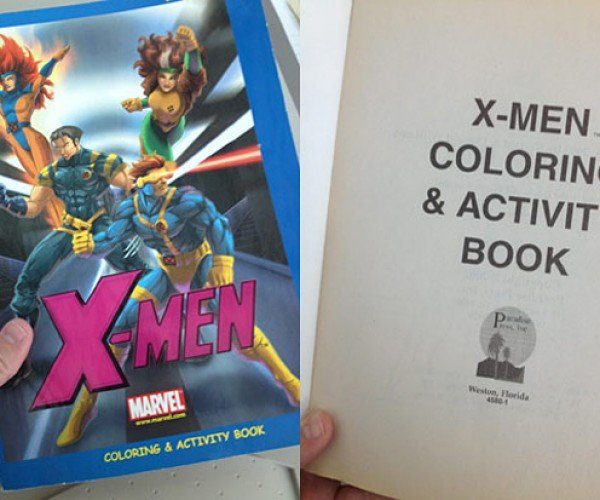 X-Mans Art Show: Children of the Coloring Book