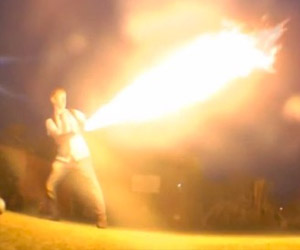 Colin Furze Makes X-Men Pyro Flamethrowers, Goes Crazy (Again)