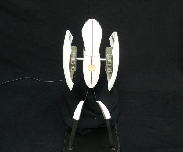3D Printed Portal Turret Moves and Tracks Targets: I'm Not Defective!