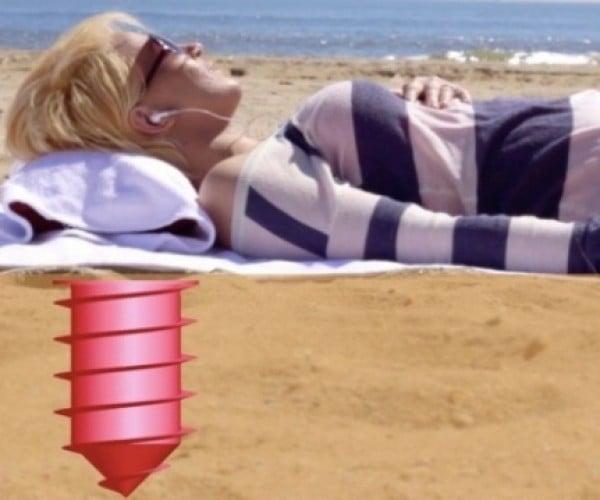 Beach Vault Keeps Your Stuff Safe, Under the Sand