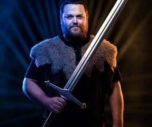 Game of Thrones Foam LARP Swords Make a Less than Iron Throne