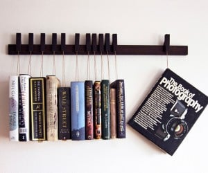 Hanging Book Rack: Hang 'Em and Read 'Em