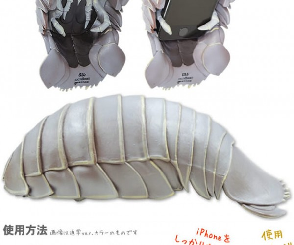 Isopod iPhone Case: Kill It with Fire!