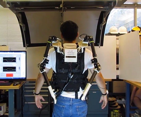 MIT Creates Wearable Robot Arms: Paging Doctor Octopus