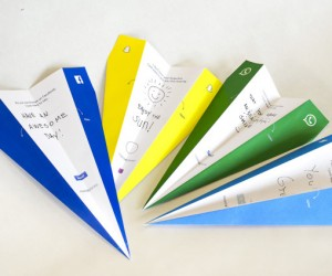 SocialPlanes: Paper Planes to Physically Send Social Media Messages