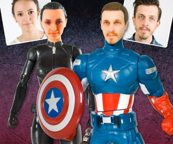 Personalized Superhero Action Figures: Your Face on Thor's Body