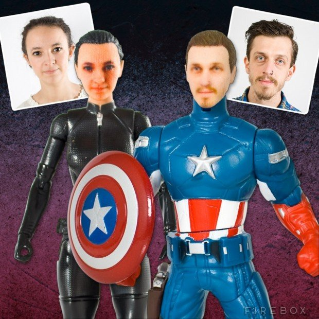 Superhero Action Figures 620x620