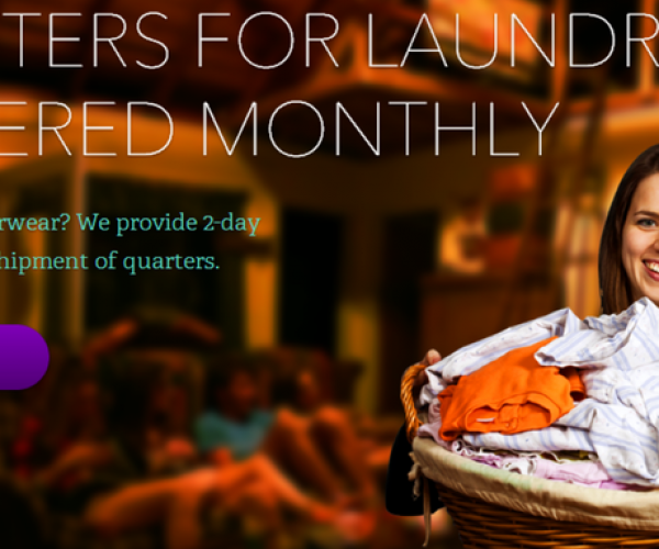 Washboard Washed up: Service That Planned to Send Quarters for Laundry Pulls Plug