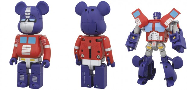 bearbrick x transformers by medicom 620x300