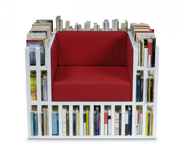 The Bibliochaise Puts a Library under Your Butt