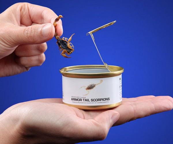 Edible Canned Bugs Look Disgusting
