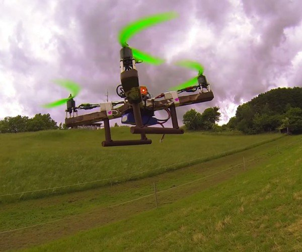 Chocolate Quadcopter: Willy Wonka's UAV
