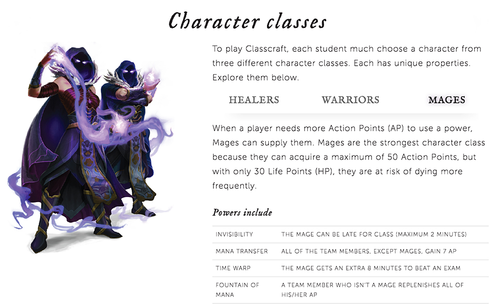 Classcraft Gamifies School The Learning Crusade Technabob