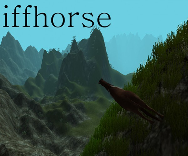 Minecraft Creator's Latest Game is Cliffhorse: Horse Simulator
