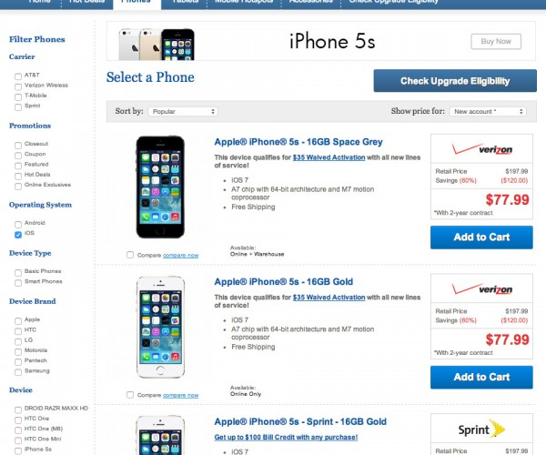 iPhones and iPads Back on Sale at Costco