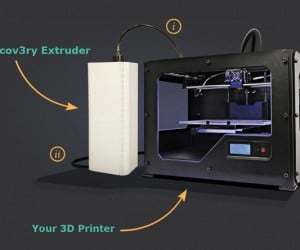 Discov3ry 3D Printer Paste Extruder: Copy with Paste