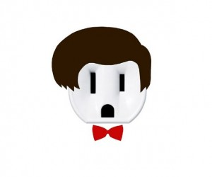 Doctor Who 11th Doctor Outlet Sticker: Wibbly-Wobbly Stickly-Wickly