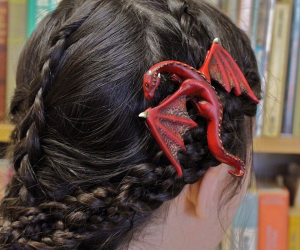 Dragon Hair Clips: A Song of Lice and Fire