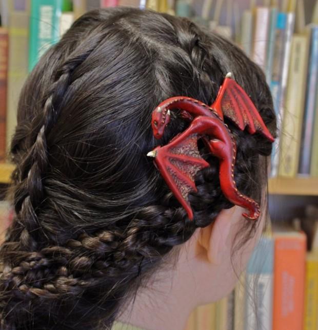 dragon hair clip