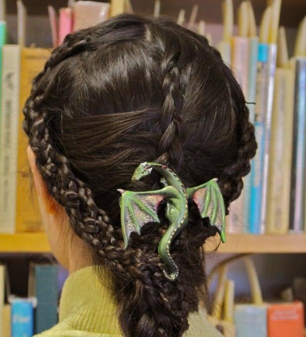 dragon hair clip1