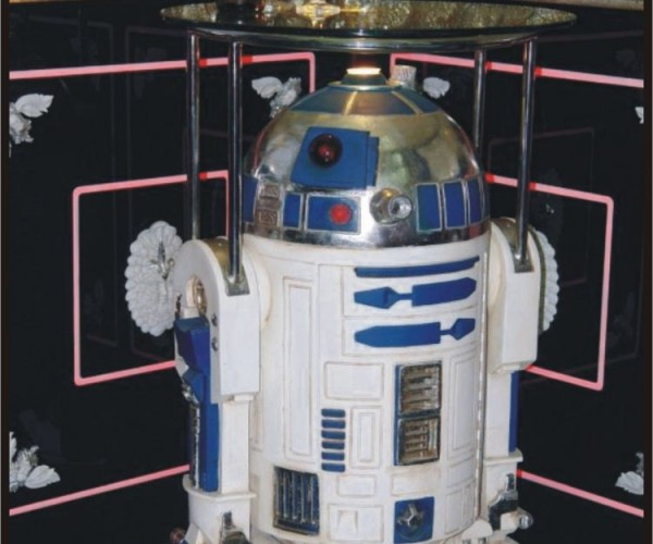 R2-D2 Serving Table: Droid Butler at Your Service