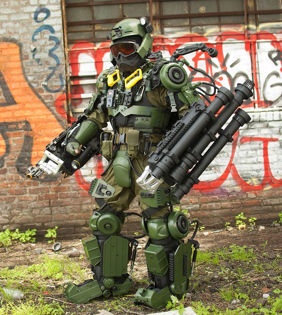 Edge Of Tomorrow Exo Suit Cosplay Reuse Wear Repeat