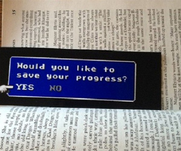 Final Fantasy-inspired Bookmark Saves Your Progress