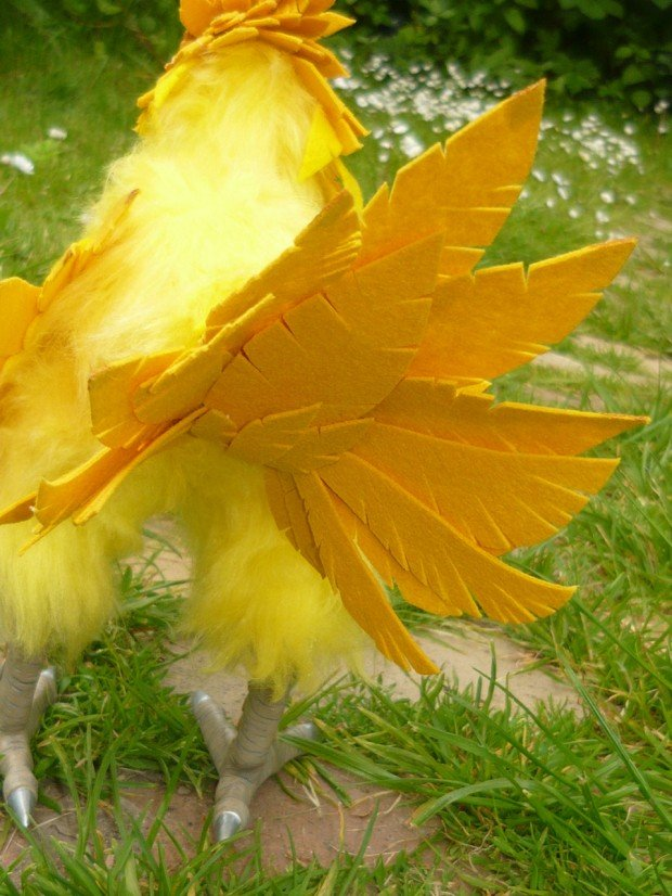 final fantasy chocobo doll by miracrafts 3 620x826