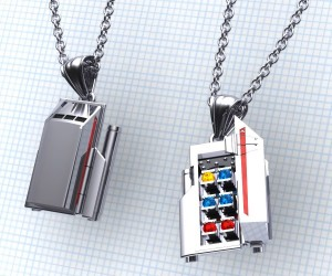 Star Trek Galileo Shuttlecraft Necklace: NECK-1701-7