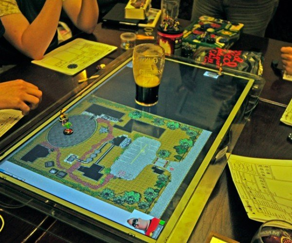 GameChanger LCD Gaming Surface: D&Display