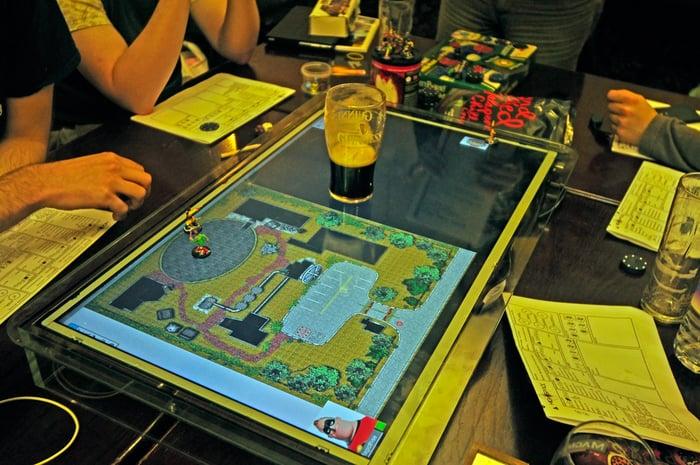 Gamechanger Lcd Gaming Surface D Amp Display
