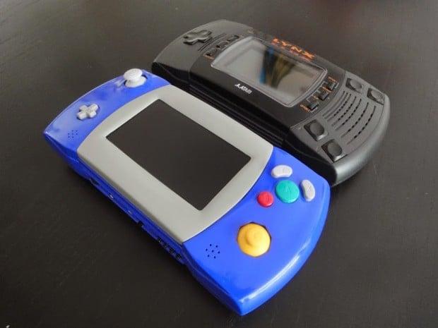 gamecube portable atari lynx casemod by akira 620x465