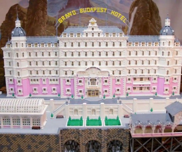 Lego Grand Budapest Hotel Looks Better Than the Movie