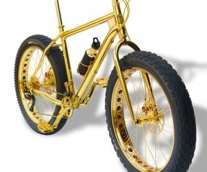 The Million Dollar Gold Mountain Bike: Donald Trump Needs This
