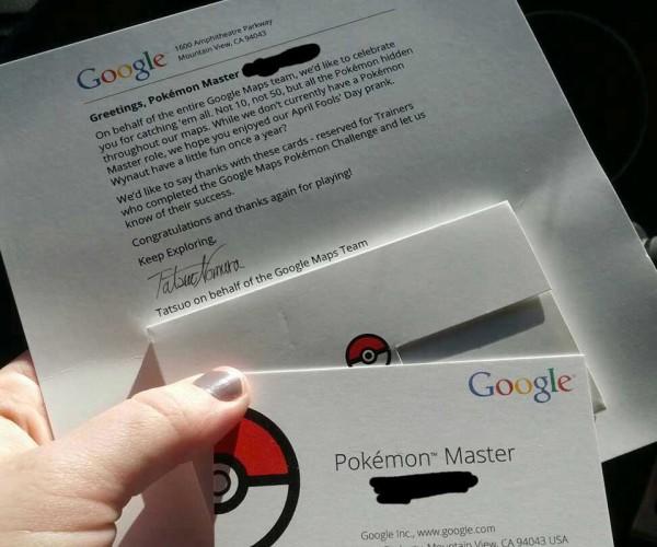 Google Maps Pokémon Challenge Reward: Chrome Badge