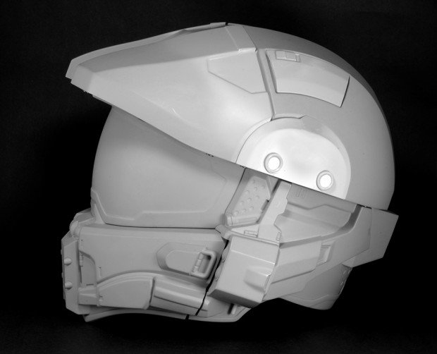 Official Halo Master Chief Motorcycle Helmet Safety Evolved