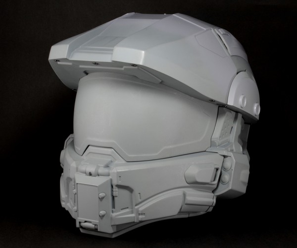 Official Halo Master Chief Motorcycle Helmet: Safety Evolved