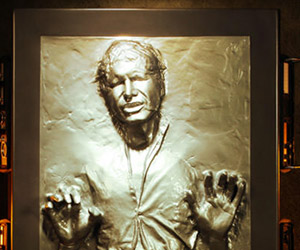 Life-size Han Solo in Carbonite Giveaway: Never Tell Me the Odds!