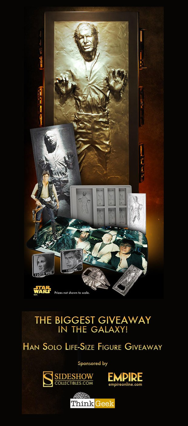 han solo carbonite giveaway