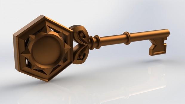 hearthstone-arena-key-3d-print-replica-by-Vivenda