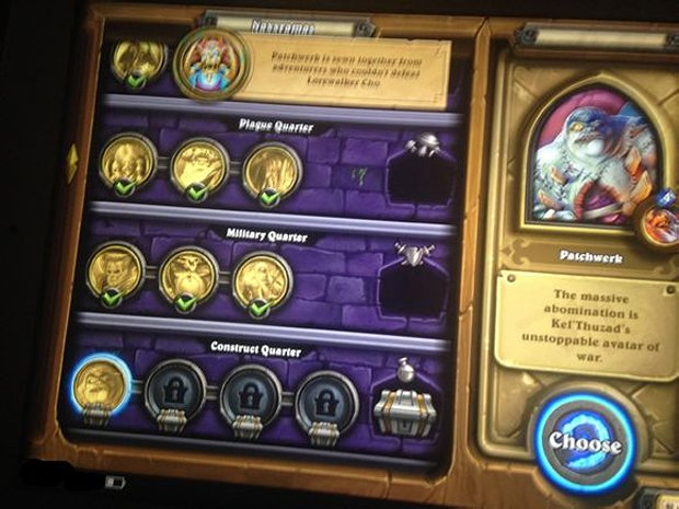 hearthstone curse of naxxramas leak 4